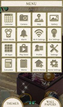 Butterflies Theme-Antique Box- apk screenshot