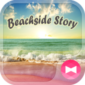 ikon Cute Tema-Beachside Story-