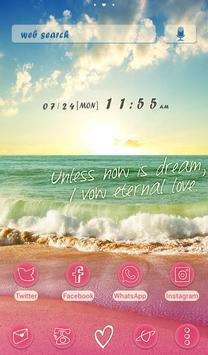 Wallpaper Tema Beachside Story Poster