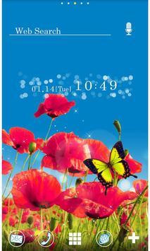 Flower Wallpaper Brilliant Sky poster