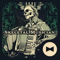 Skull Wallpaper Skeletal Musician Theme
