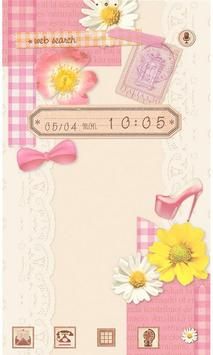 Cute wallpaper-Girly Collage poster