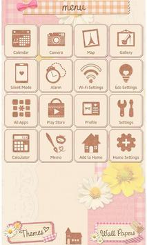 Cute wallpaper-Girly Collage apk screenshot