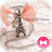 Cute Theme-Girly Eiffel Tower- icon