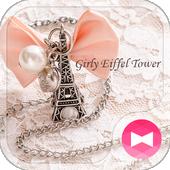 ikon Cute Theme-Girly Eiffel Tower-