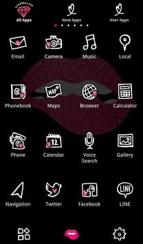Glitter Lip Wallpaper apk screenshot
