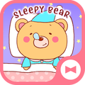 Cute Wallpaper Sleepy Bear Theme