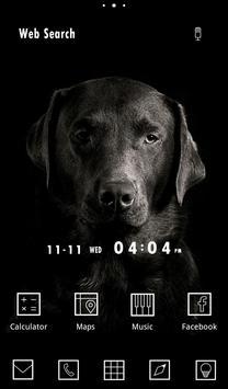 Wallpaper-Dog in the Dark- poster