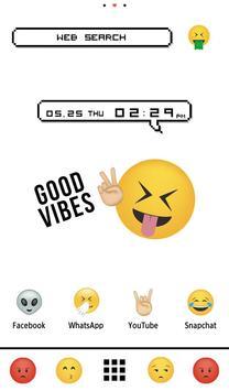 Wallpaper Emoji Paradise Theme poster