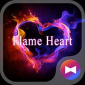 Flame Heart +HOME Theme icon