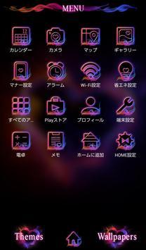 Flame Heart +HOME Theme apk screenshot