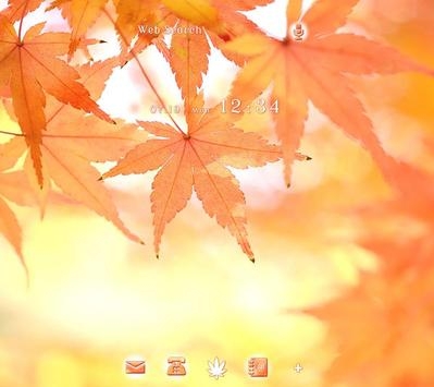 Fall Leaves Autumn Theme poster