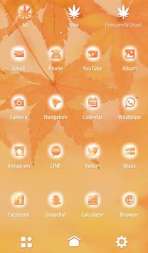 Fall Leaves Autumn Theme screenshot 2
