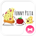 Funny Pizza +HOME Theme