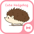 Wallpaper Cute Hedgehog Theme