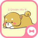 Animal Wallpaper Cute Mini-Shiba Tema APK