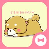 خلفيات وأيقونات Cute Mini-Shiba أيقونة
