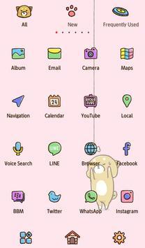 خلفيات وأيقونات Cute Mini-Shiba تصوير الشاشة 2
