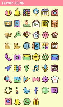 خلفيات وأيقونات Cute Mini-Shiba تصوير الشاشة 3