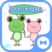Cute Wallpaper Frog Couple icon