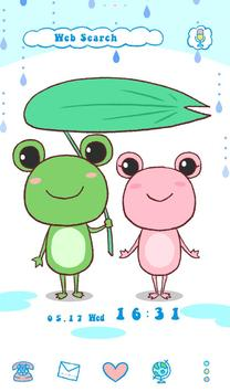 Cute Wallpaper Frog Couple apk screenshot