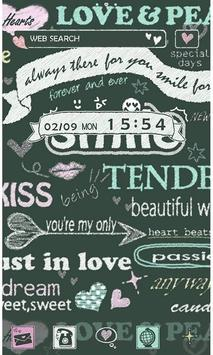 Love Wallpaper Sweet Words poster