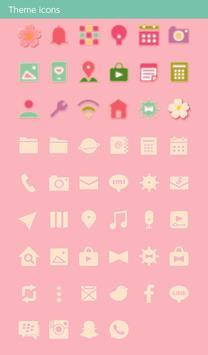 Cute Theme-Japanese Treats- apk screenshot
