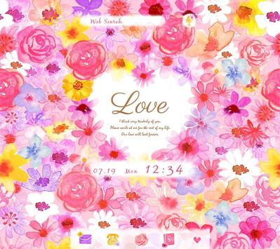 Heart in Flowers +HOME Theme poster