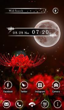 Fantasy Wallpaper Red Spider Lily Theme apk screenshot