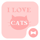 Wallpaper I Love Cats Theme icon