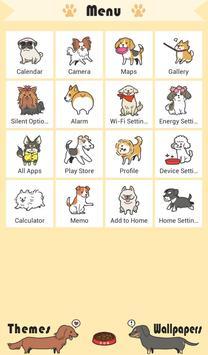 Cute Wallpaper I Love DOGS Theme apk screenshot