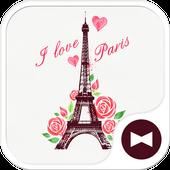 I Love Paris Wallpaper icon