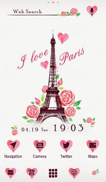 I Love Paris Wallpaper poster