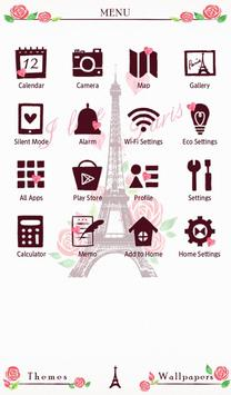 I Love Paris Wallpaper apk screenshot
