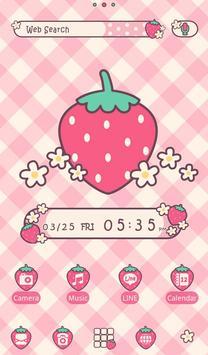 Strawberry Checks +HOME Theme poster