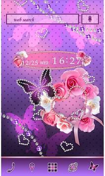 Cute Wallpaper Pearl Hearts poster