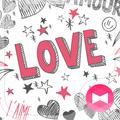 Cute Wallpaper Hearts & Love Theme