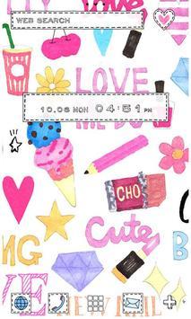 Cute Wallpaper Love Me poster