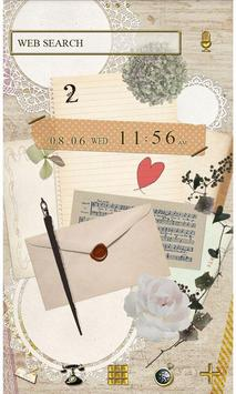 Natural Theme-Love Letter- poster