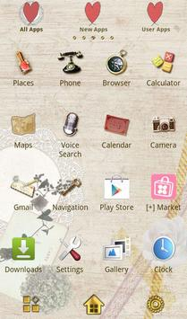 Natural Theme-Love Letter- apk screenshot