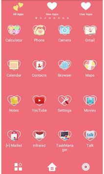Heart Wallpaper LOVE YOU! apk screenshot