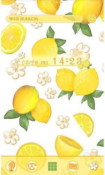 Cute Theme-Citrus- poster