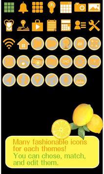 Cute Theme-Citrus- apk screenshot
