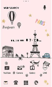 Cute Theme-Little Paris- الملصق