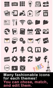 Cute Theme-Little Paris- تصوير الشاشة 3