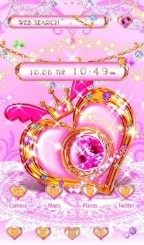 Cute Theme-Magical Heart- apk screenshot