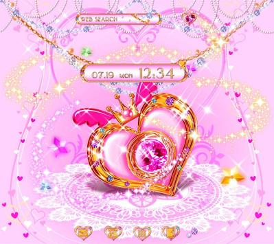 Cute Theme-Magical Heart- poster
