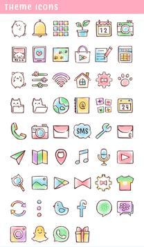 Cute Wallpaper Roly Poly Cats Theme screenshot 3