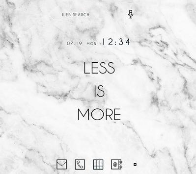 Cool Wallpaper Marble Stone Theme poster