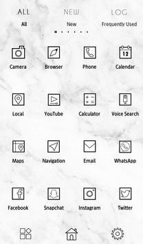 Cool Wallpaper Marble Stone Theme apk screenshot